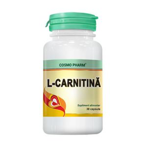 L-Carnitina 30 cps, Cosmo Pharm