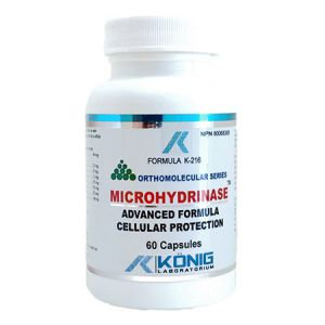 Microhidrinaza (Microhydrinase) 60 cps, Konig Nutrition