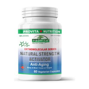 Natural Strength Activator Anti-Aging 60 cps, Provita Nutrition