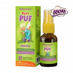 Ingerasul PufyPUF Salvie spray 20 ml Dacia Plant