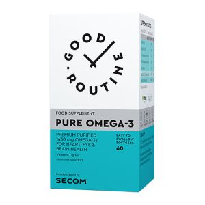 Pure Omega-3 60 cps, Good Routine