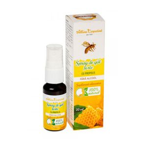 Spray de gat forte cu propolis 20ml, Albina Carpatina
