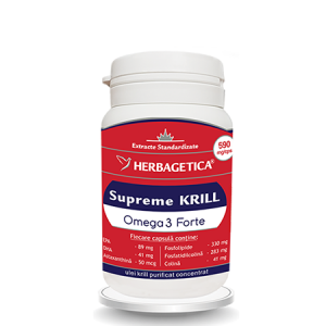 Supreme Krill Omega3 Forte 30 cps, Herbagetica