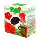 Ceai de hibiscus flori 75g, Parapharm